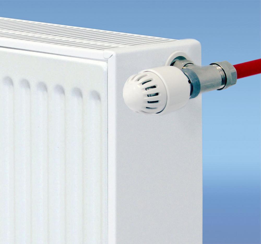 подключение стального радиатора